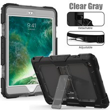 Shoulder Strap Clear Back Cover Universal Case For iPad Mini 1 2 3