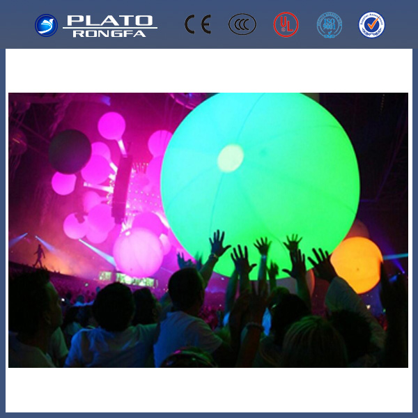 inflatable crowd balls for concert and party/inflatable led globe
