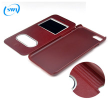 Wholesale Luxury Full Protective Window View Flip Leather Phone Cases for iPhone 6