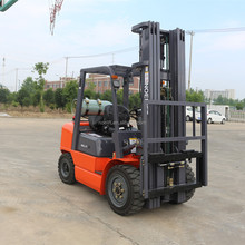 4 ton diesel 4.3m Lift, 3 Stage Container Mast Cheap price lpg gasoline Powered Forklift made in China