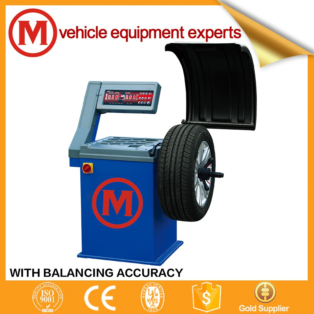 ce quality China tire wheel balancer for sale wheel balancing machine