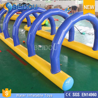 Cheap Outdoor Inflatable Bouncer Water Sports Giant Adult Inflatable Water Obstacle Course For Sale