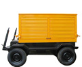 KTA19-G2 Engine Trailer-Mounted Mobile Potable Diesel Generator Sets 300KW/375KVA