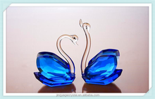Noble Crystal Custom Made Islamic crystal swans Wedding Gifts for guests