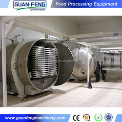 food vacuum dehydrator / freeze dried honey powder machine / vegetable vacuum freeze dryer