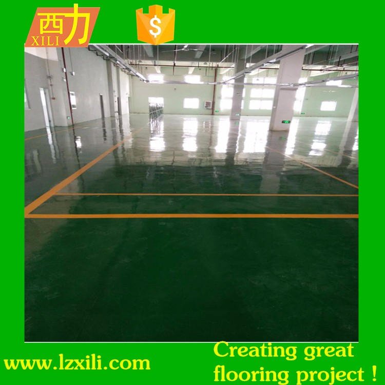 colorful Waterproof Rubber Floor Paint for Sport