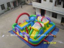 8x8m inflatable play structure for kids by .55mm PVC Tarpaulin