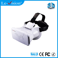 Personal Film 5D 7D Cinema Use Google Cardboard VR Box Virtual Reality 3D Glasses with Bluetooth Remote Controller