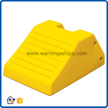NWH-WCK12 Traffic Polyurethane Truck Parking Stoppers/Wheel Chock/Edge Stopper