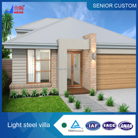 Beautiful villa flat roof house designs