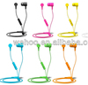 Best quality fashion candy color earphone for mobile phone