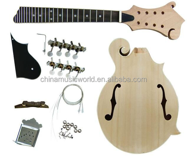 Best Seller Mandolin! Afanti DIY Mandolin Kit (AMK-NF60)