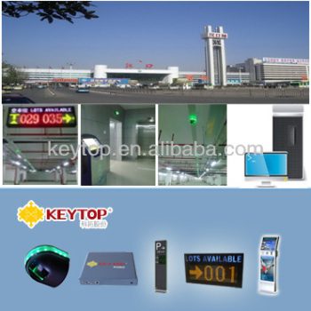KEYTOP Vehicle Tracking System /Car Finder System / CCTV System for Mall Car Park