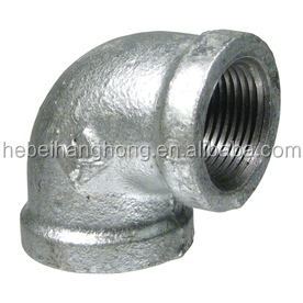 1/2'' 3/4'' elbow GI pipe fitting for furniture table leg and shelf