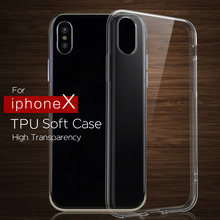 Wholesale 5.5 inch Clear Transparent Sublimation TPU pc Phone Case for iphone X 8 6 5 7 plus