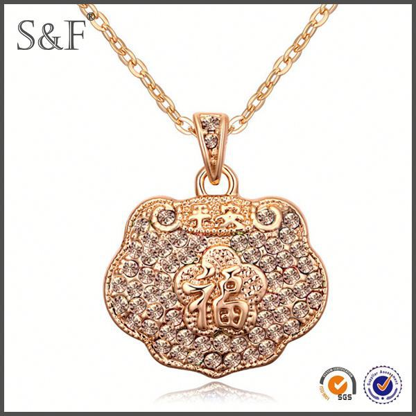Professional Factory Sale!! Fashionable wholesale necklace with word
