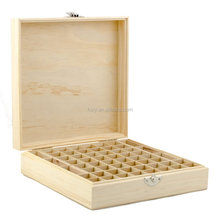 china factory FSC pine 68 grid Wooden Essential Oil Carrying Case,Essential Oil Wood Box,Doterra Wooden Storage Box