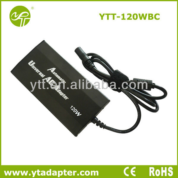 notebook dc 120w universal car laptop adapter with 10 tips