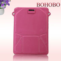 Leather stand case for ipad mini,for the new ipad 3 back cover housing replacement,waterproof bag for ipad