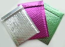 decorative bubble mailers/colored mailing bags/hard plastic envelopes