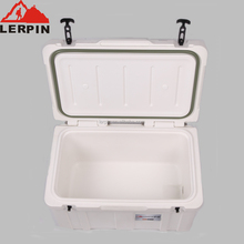 75L Cheap heavy duty handle cooler box with PE&PU material for Food and Beverage use