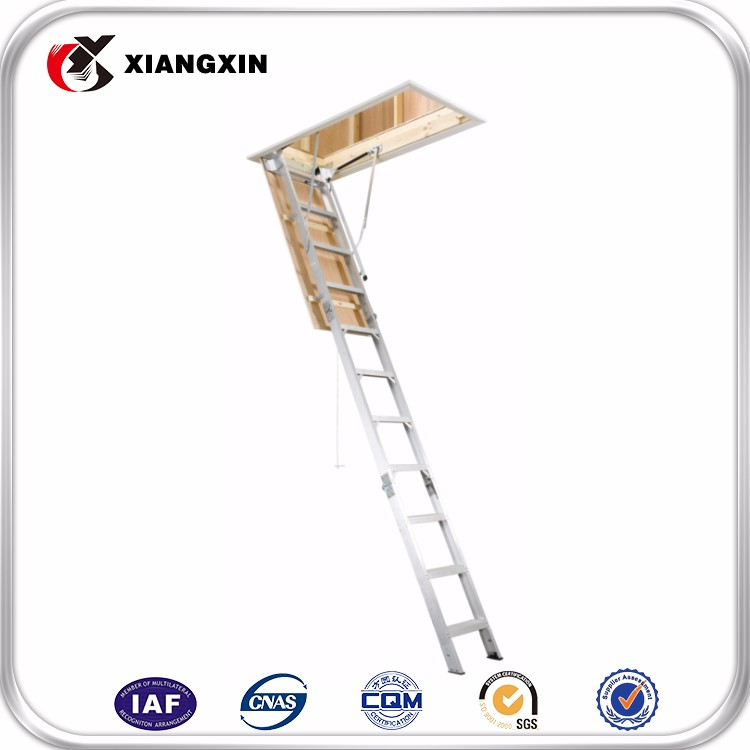 easy extension attic stair fold step ladder use