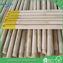 120cm extra long mop handle natural broom handles wholesale with Italain screw