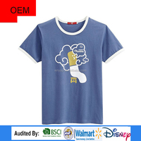 Wholesale Fitness Apparel Men's Clothing / Manufacturer High Quality 100% cotton t-shirt in China Supplier
