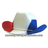 red white blue cowboy hats