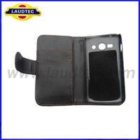 Cell Phone Accessory Display Wallet Leather Case For Samsung Galaxy Ace 3 7272