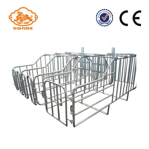 easy install automatic pig farm equipment Hot-dipped galvanized Pig Cages