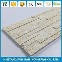 Cheap restaurant wall panel indoor decorative columns popular faux stone table tops with high quality