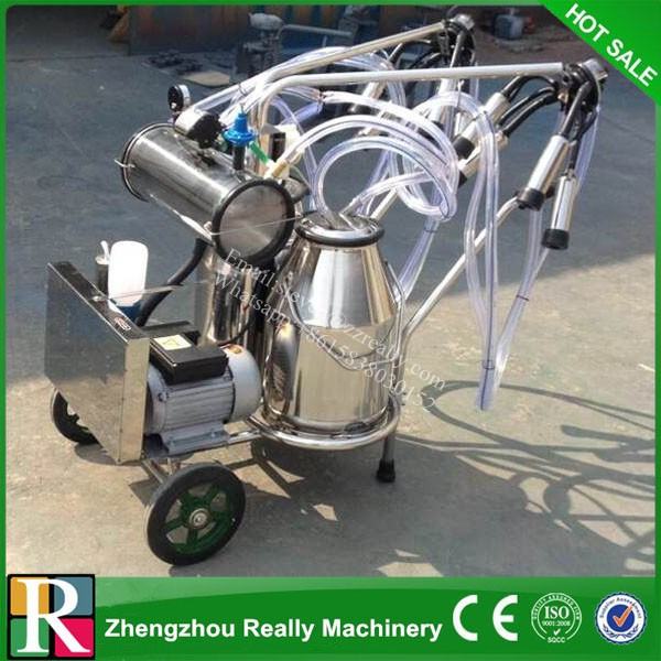 Portable Human Milking Machine with Low Noise