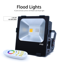 190W Outdoor Garden Yard Waterproof Lamp gledopto RGB LED Floodlight and Remote Control , mean well driver