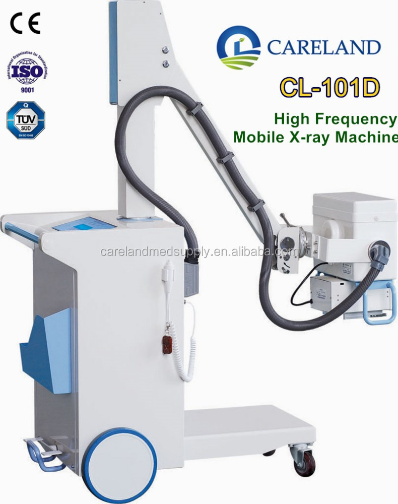 100mA Hospital clinical medical equipment diagnostic Mobile digital radiography X-ray Machine unit