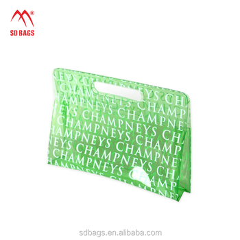 2018 High quality wholesale fashion cosmetic transparent pvc cosmetic bag