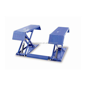 Factory price CE approved Durable Auto Repair Shop small scissor car lift hydraulic fixed car scissor lift