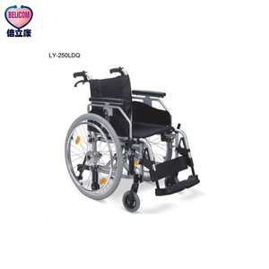 CE, FDA ISO Certificate Aluminum Alloy Manual Wheelchair Rolling Chair for Injured and Disabled