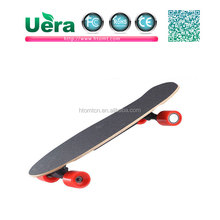 Wholesale customized logo accepted electric monocycle four wheel outdoor skateboard with remote control