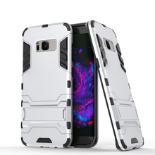 Free sample phone case for samsung galaxy s8 with kickstand
