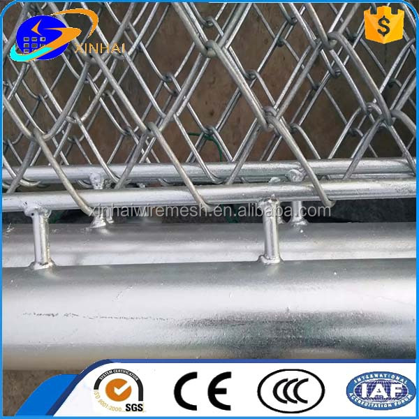 Temporary Chain Link Metal Fence Panels For US market