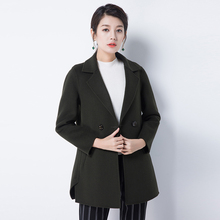 Good quality snug Double-faced cashmere overcoat