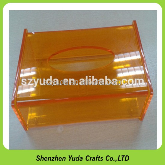 Acrylic Counter Napkin Displays Acrylic Tissue Box,Plexiglass Tissue Box