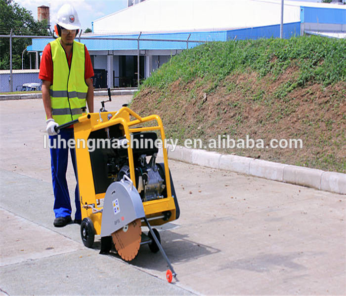 asphalt road cutter/Automatic concrete road cutting machine skype: luhengMISS