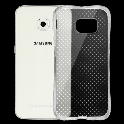 In stock low price Transparent Shock-resistant Cushion Protective TPU phone Case For Samsung Galaxy S6 Edge / G925