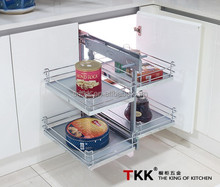 TKK Anti-slip board magic corner Kitchen Cabinet Corner