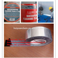HOT SALES ---- 1.5MM THICKNESS A PEEL AND STICK ALUMINUM BITUMEN WATERPROOFING FLASHING TAPE