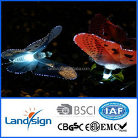 China supplier made Led Lights Series XLTD-118 Outdoor Garden Yard Solar Butterfly String Light LED Lamp CE Certified
