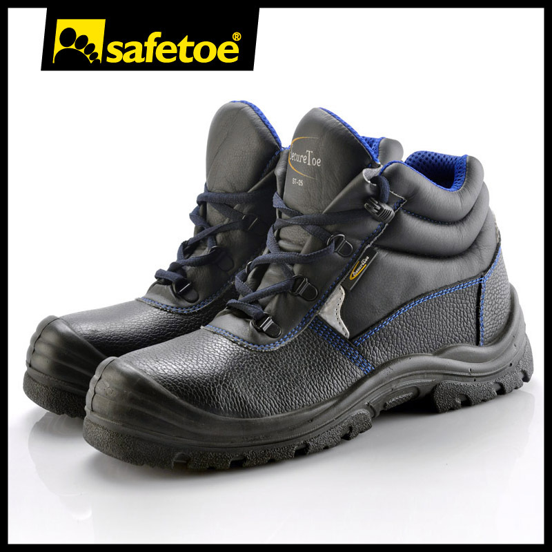 buffalo leather safety shoes M-8175
