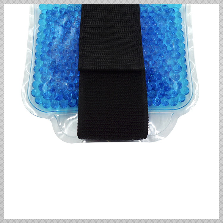 Blue Beads Freeze Gel Packs For Twisted Knee